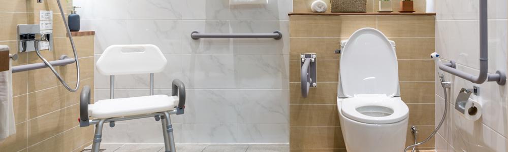 Accessible Bathrooms Header